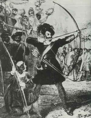 Henry VIII at an Archery Tournament