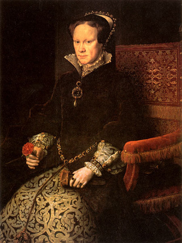 Henry VIII's Daughter, queen Mary I