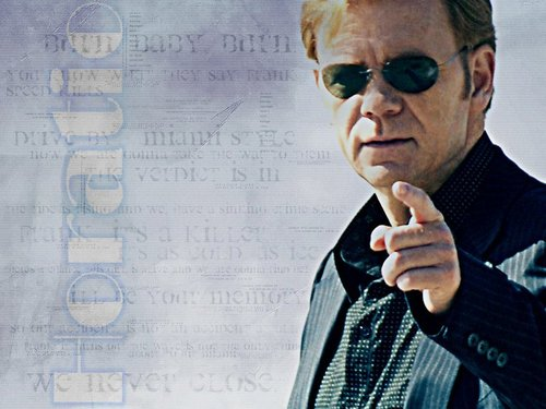 CSI: Miami wallpaper possibly containing sunglasses, a business suit, and a portrait called Horatio
