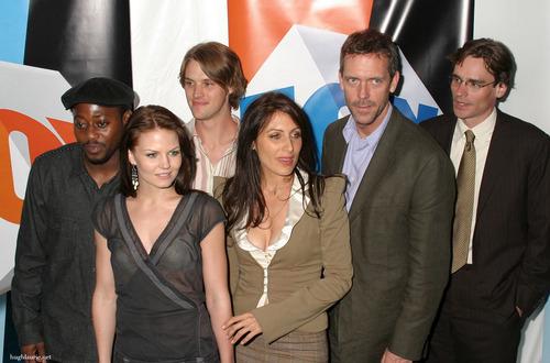 House M.D. Cast Wallpaper With A Business Suit Called House Cast