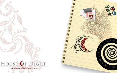 House of Night Series wallpaper entitled House of Night