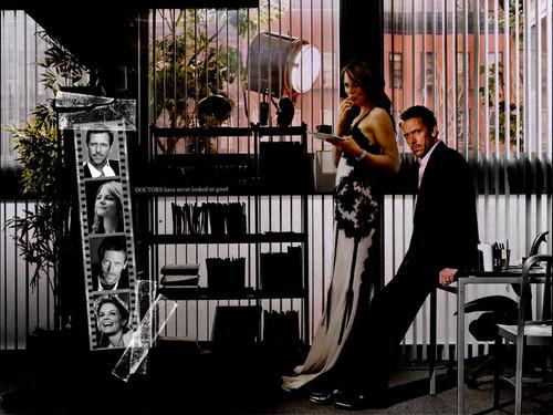 Hugh And Jennifer.