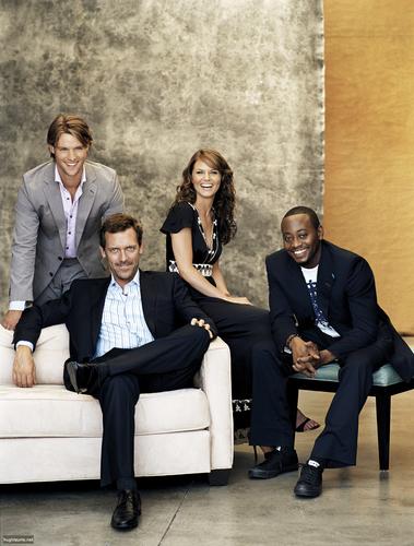 Hugh, Jennifer, Eric And Jesse