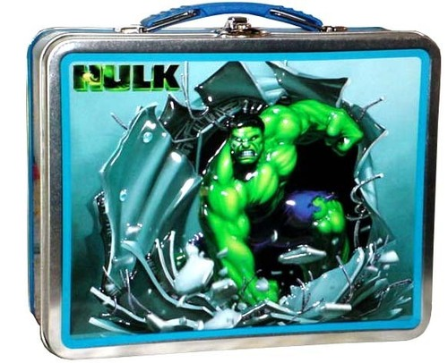 Lunch Boxes karatasi la kupamba ukuta titled Hulk Lunch Box