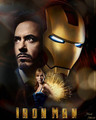 Iron Man Poster  - iron-man fan art