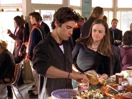 Jess VS. Dean fondo de pantalla containing a holiday dinner, a cena table, and a cena titled Jess