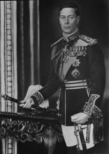 Kings and Queens wallpaper entitled King George VI of England