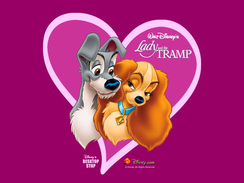 Disney wallpaper entitled Lady and The Tramp