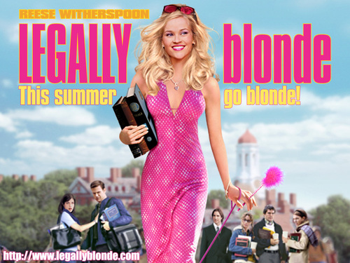 Legally Blonde kertas dinding