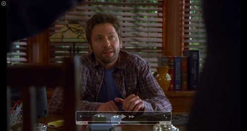 Lucas in Cuddy's Office