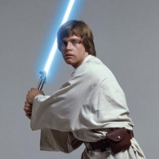 Luke w/light saber
