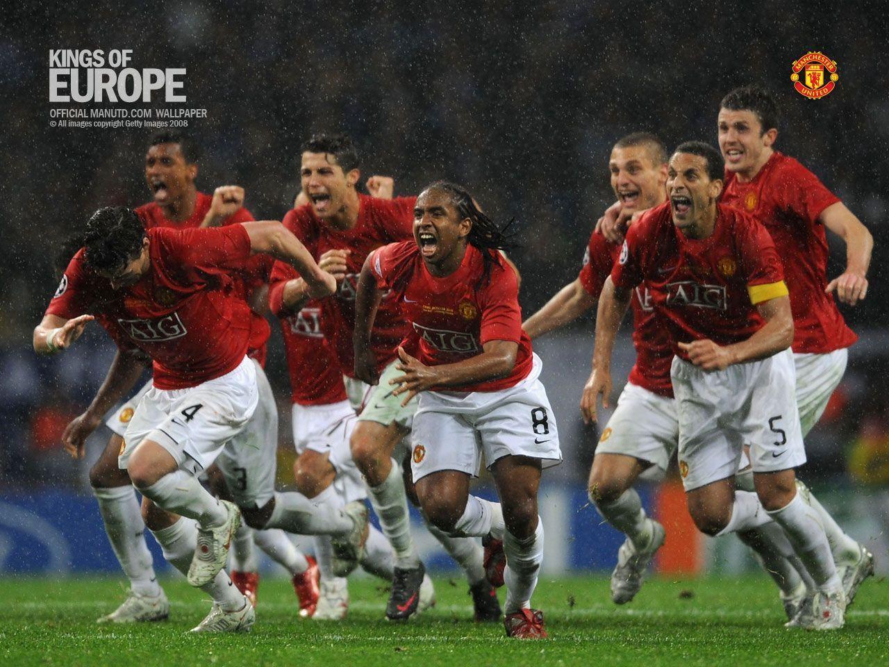 Man Utd 07/08 Wallpapers