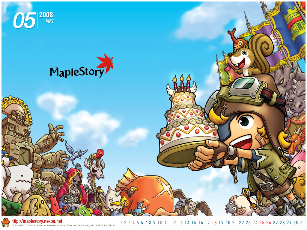May 08 Maple Story Wallpaper Fanpop Page 2