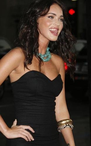 Megan fuchs @ Eagle Eye Premiere 2008