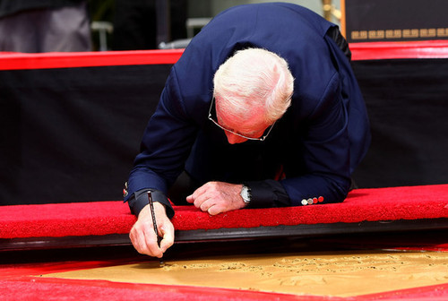 Michael Caine Honored at Hollywood Walk of Fame