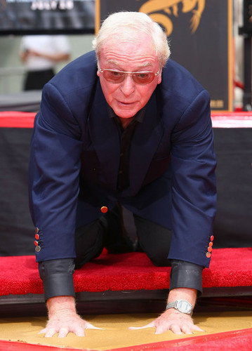 Michael Caine Walk of Fame