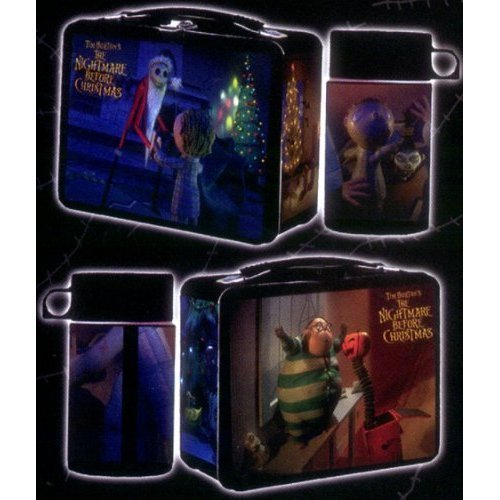 Nightmare Before Christmas Santa Jack Lunch Box
