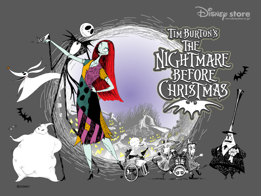 Nightmare Before pasko wolpeyper