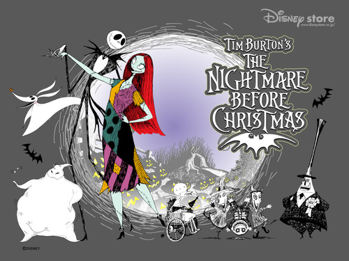 Nightmare Before Christmas wallpaper with anime called Nightmare Before Christmas Wallpaper