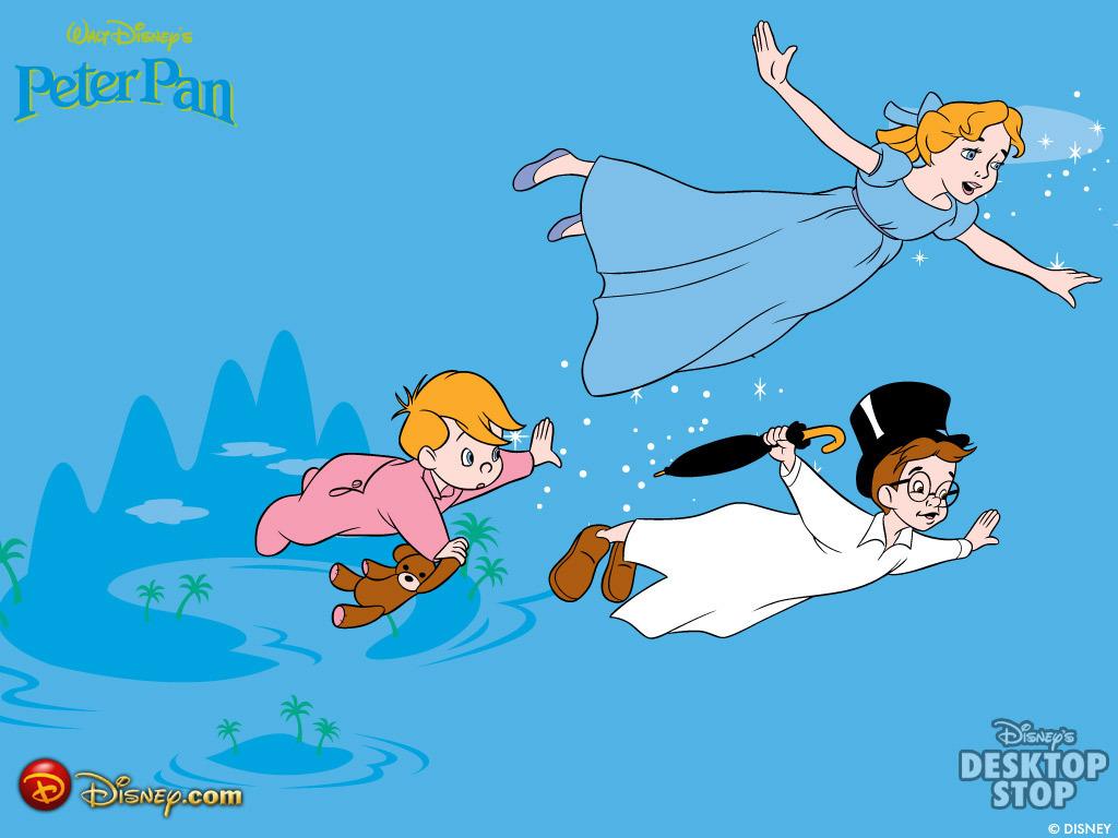 Peter Pan Wallpaper - Peter Pan Wallpaper (2428833) - Fanpop