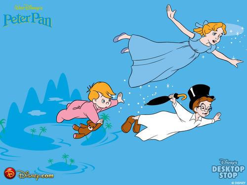Peter Pan Hintergrund