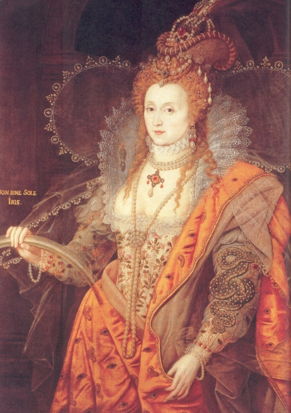Queen Elizabeth I Daughter Of Henry Viii King Henry