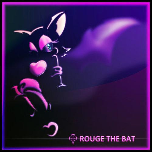 ROUGE THE BAT Обои titled RB