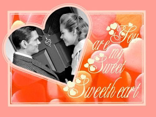 Samantha and Darrin - bewitched Wallpaper