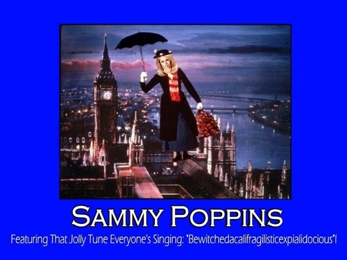 Samantha a la Mary Poppins