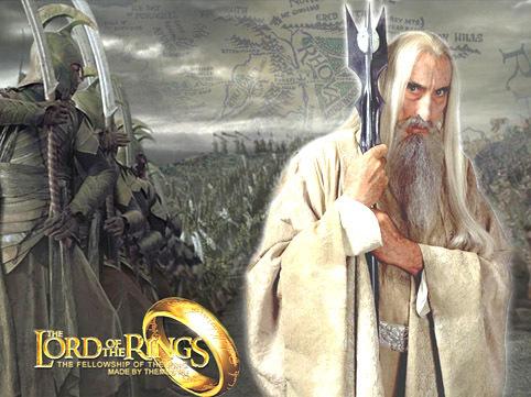 Saruman in LOTR