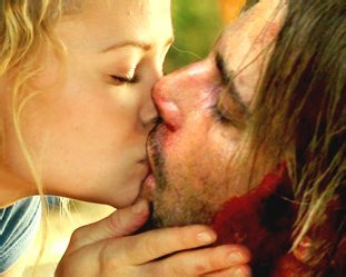 Lost wallpaper probably with a neonate called Sawyer and Claire