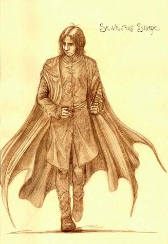 Severus Snape 1st dag class