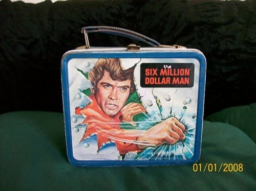 Six Million Dollar Man Vintage 1978 Lunch Box