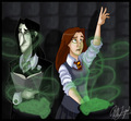 Snape x Lily In Potion Class
