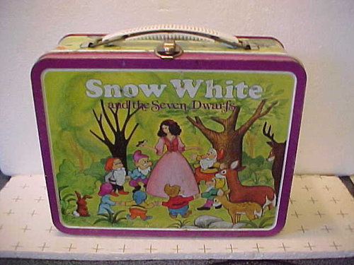 Snow White Vintage 1950's Lunch Box