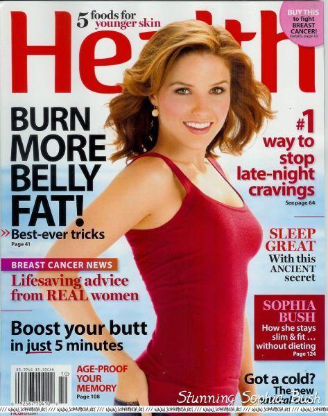 Sophia Bush on the cover