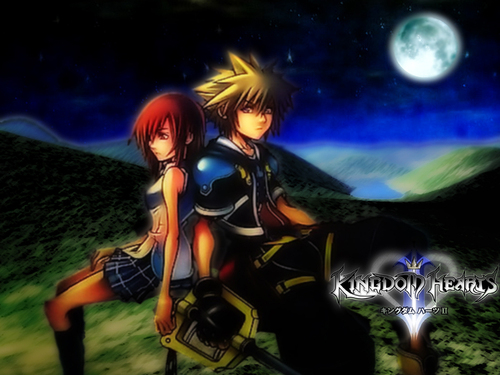 kingdom hearts fondo de pantalla entitled Sora & Kairi