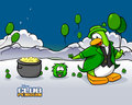 St.Patrick Day - club-penguin wallpaper