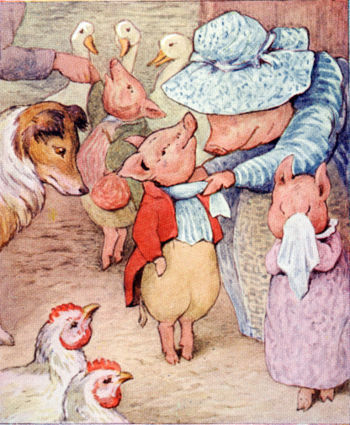 Beatrix Potter wallpaper possibly with Anime titled Tale of Pigling Bland