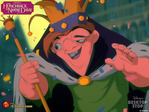 The Hunchback of Notre Dame kertas dinding