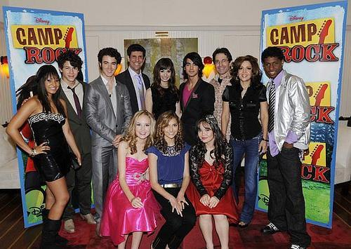 The whole camp rock cast