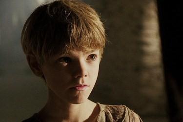 Thomas as Romulus Agustus in The Last Legion