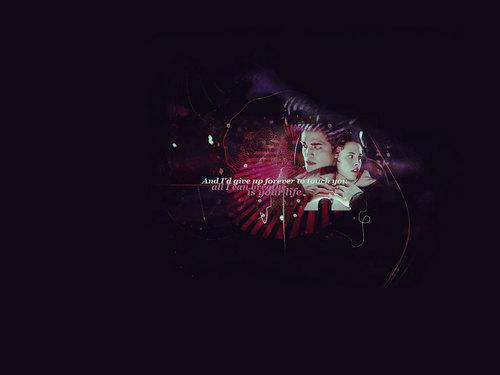 Twilight Movie [Edward and Bella] پیپر وال