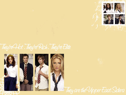 Upper - East - Sider - gossip-girl Wallpaper