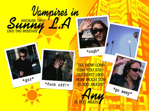 Vampires in sunny LA - moonlight Wallpaper