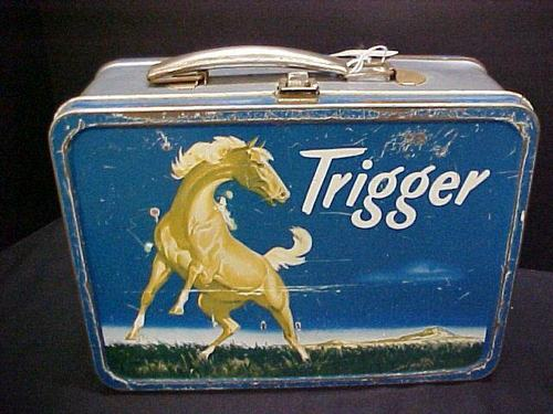 Vintage Trigger 1957 Lunch Box