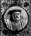 Wood Engraving of Henry VIII