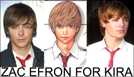 Zac Efron For Kira