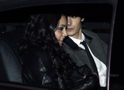 Zac with Vanessa