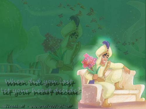 Aladdin wallpaper probably with a bouquet and a candle called alladin 2